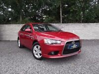 MITSUBISHI LANCER 2.0 DI-D GS2 ** SERVICE HISTORY**VW RUNNING GEAR**