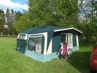 2002 CONWAY CRUISER FOLDING CAMPER/ TRAILER TENT
