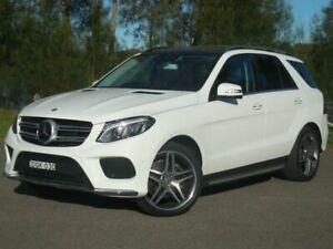 2017 Mercedes-Benz GLE250D W166 White Automatic Wagon Lansvale Liverpool Area Preview