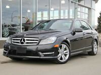2012 Mercedes-Benz C-Class Certified | 4Matic | Navigation | LED