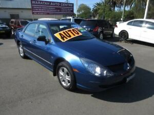 2005 Mitsubishi Magna TW Series II ES Blue 4 Speed Auto Sports Mode Sedan