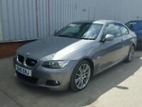 breaking parts bmw e92 e93 330i 3.0 petrol engine 6hp automatic roof motor grey bonnet wings doors
