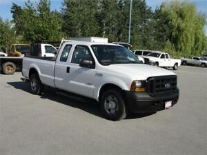 2006 FORD F-250 SUPER DUTY XL EXTENDED CAB LONG BOX DIESEL
