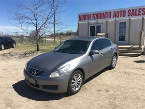 2008 INFINITI G35 SEDAN - AWD - SUNROOF - HEATED SEATS - CLEAN