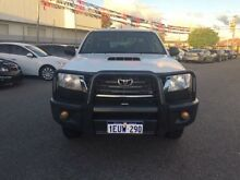 2013 Toyota Hilux KUN26R MY12 SR (4x4) Glacier White 5 Speed Manual Dual Cab Chassis Maddington Gosnells Area Preview