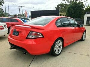2012 Ford Falcon FG MkII XR6 Red 6 SPEED Manual Sedan Southport Gold Coast City Preview