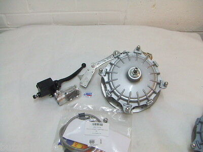 Lambretta Anti Dive Front Disc Brake kit Silver LI SX GP Serveta TV