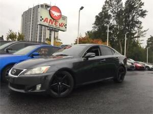 2009 Lexus IS 250 Leather Loaded 6 Speed Priced to Sell