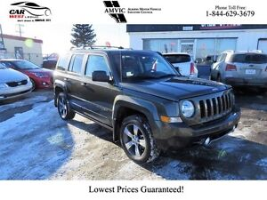 2016 Jeep Patriot Low KM, Leather, Bluetooth