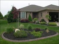 Upgrade your property with permanent concrete landscape borders!