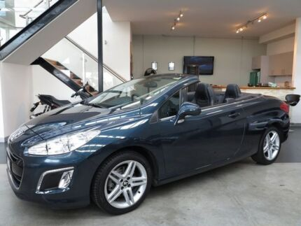 2012 Peugeot 308 T7 MY12 CC Allure HDI Egyptian Blue 6 Speed Auto Seq Sportshift Convertible Essendon Moonee Valley Preview