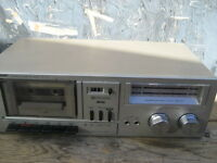 Sharp model RT-10C stereo tape deck. Vintage. 10W . size 15x8x4.