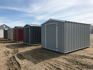 ALL STEEL STORAGE SHEDS