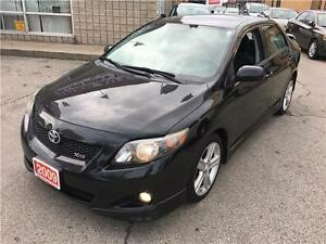 2009 Toyota Corolla XRS-SUNROOF-5 SPEED MANUAL