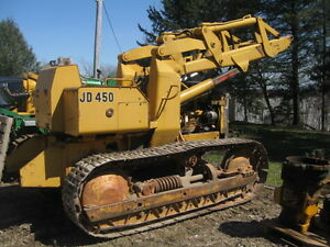 JOHN DEERE 'S PARTING OUT JD 350 Loader   420 1010 440 & OTHERS