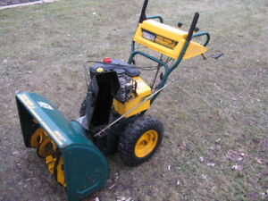 Yard Man(MTD) 9Hp , 27 Inch Cut Snow Blower