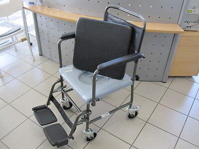 Toilettenrollstuhl fahrbar TRENDMOBIL TSF Toilettenstuhl Nachtstuhl Rollstuhl
