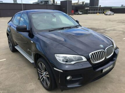 2013 BMW X6 E71 MY12 xDrive 40D Dark Blue 8 Speed Automatic Coupe