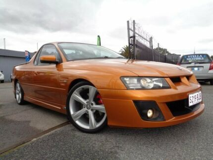 2005 Holden Special Vehicles Maloo Z Series Orange 6 Speed Manual Utility Pooraka Salisbury Area Preview