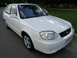 2006 Hyundai Accent LS 1.6 White 5 Speed Manual Hatchback Chermside Brisbane North East Preview