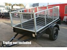 7x5 Galvanised Box Trailer Cage - 600mm Height (2ft) Fyshwick South Canberra Preview
