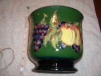 Moorcroft Vase Exceptionally rare export piece vine and fruit from the 1970's