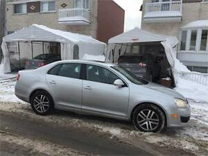 2006 VW JETTA- automatic- CUIR-TOIT-MAGS- 4 cyl- PROPRE- 2800$