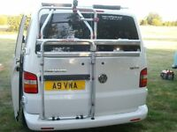 Bike Rack for VW T5 twin door fiamma, brand new will carry two bikes
