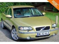 2002 52 VOLVO S60 2.4 D5 SE 4D AUTO 161 BHP DIESEL HIGH SPEC!!