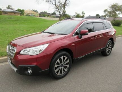 2015 Subaru Outback B6A MY15 2.5i CVT AWD Venetian Red 6 Speed Constant Variable Wagon Old Reynella Morphett Vale Area Preview