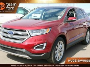 2018 Ford Edge TITANIUM, 302A, AWD, SYNC3, NAV, MOONROOF, LTHR,