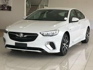 2018 Holden Commodore ZB MY18 RS Liftback AWD White 9 Speed Sports Automatic Liftback Ashmore Gold Coast City Preview