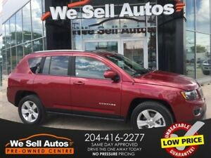 2016 Jeep Compass Sport 4X4 *LOW KM *HTD SEATS* SUNROOF* LTR INT