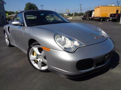 2005 Porsche 911 TURBO S AWD CONVERTIBLE NAV SERVICED  ONLY 37K FLAWLESS LOOK!