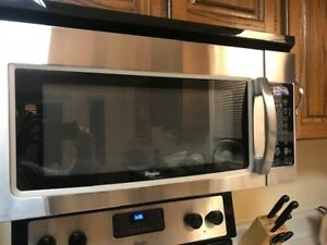 Whirlpool Stainless Over the Range Microwave