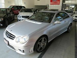 2007 Mercedes-Benz CLK63 C209 MY08 AMG Silver 7 Speed Sports Automatic Coupe Albion Brisbane North East Preview