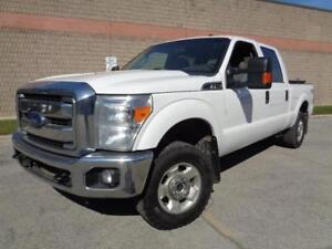 2012 Ford Super Duty F-250 4DOOR***4X4**XLT FX4**READY FOR WORK