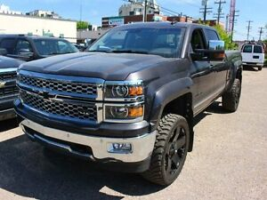 2015 Chevrolet Silverado 1500 LIFTED LOADED LOW KM FINANCE AVAIL