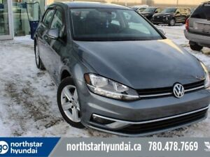 2018 Volkswagen Golf COMFORTLINE/LOWKM/LEATHER/NAV/APPLECARPLAY