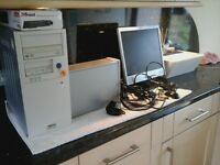 2 x pcs both complete with keyboards monitors etc and all cables