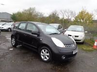 2007 Nissan Note 1.6 SE 1 Owner From New 111,000 Miles £1250