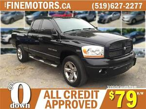 2006 DODGE RAM1500 SPORT * 4X4 * TRUCK LOAN FOR ALL CREDIT