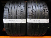 R88 2X 295/25/20 ZR CONTINENTAL SPORT CONTACT 5P XL 1X5,5MM 1X6MM TREAD