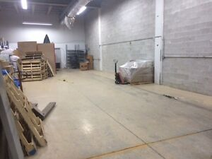 Warehouse space available - Excellent location!