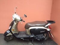 Excelent Condition Sym Fiddle III 125cc- Collection Bromley or Streatham