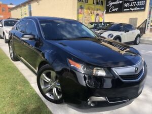 2012 Acura TL w/Tech Pkg/Sunroof/Navigation