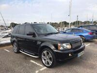 Land Rover Range Rover Sport 2.7 tdv6 (black) 2006