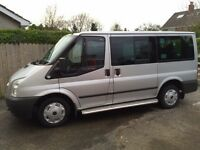 FORD TOURNEO 9 SEATS,WHEELCHAIR ACCESSIBLE VEHICLE.