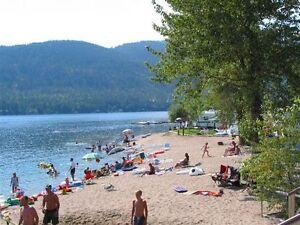 Christina Lake, BC  CLR Resort Site #18