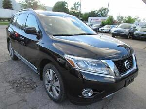 2013 Nissan Pathfinder Platinum ACCIDENT FREE NAVI  CAMERA